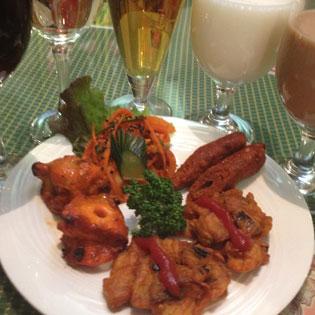 インドレストラン ガンジーパレスメニュー写真