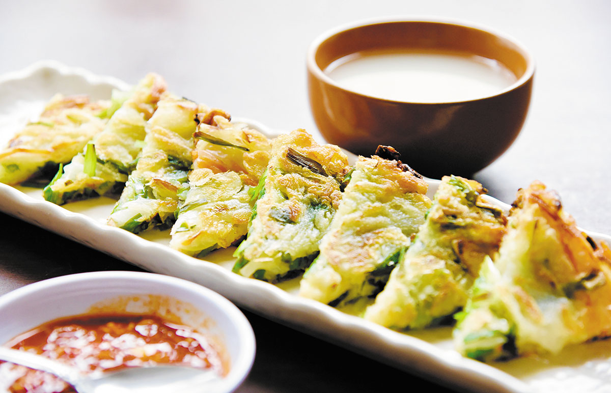 韓国家庭料理 民俗村 メニュー
