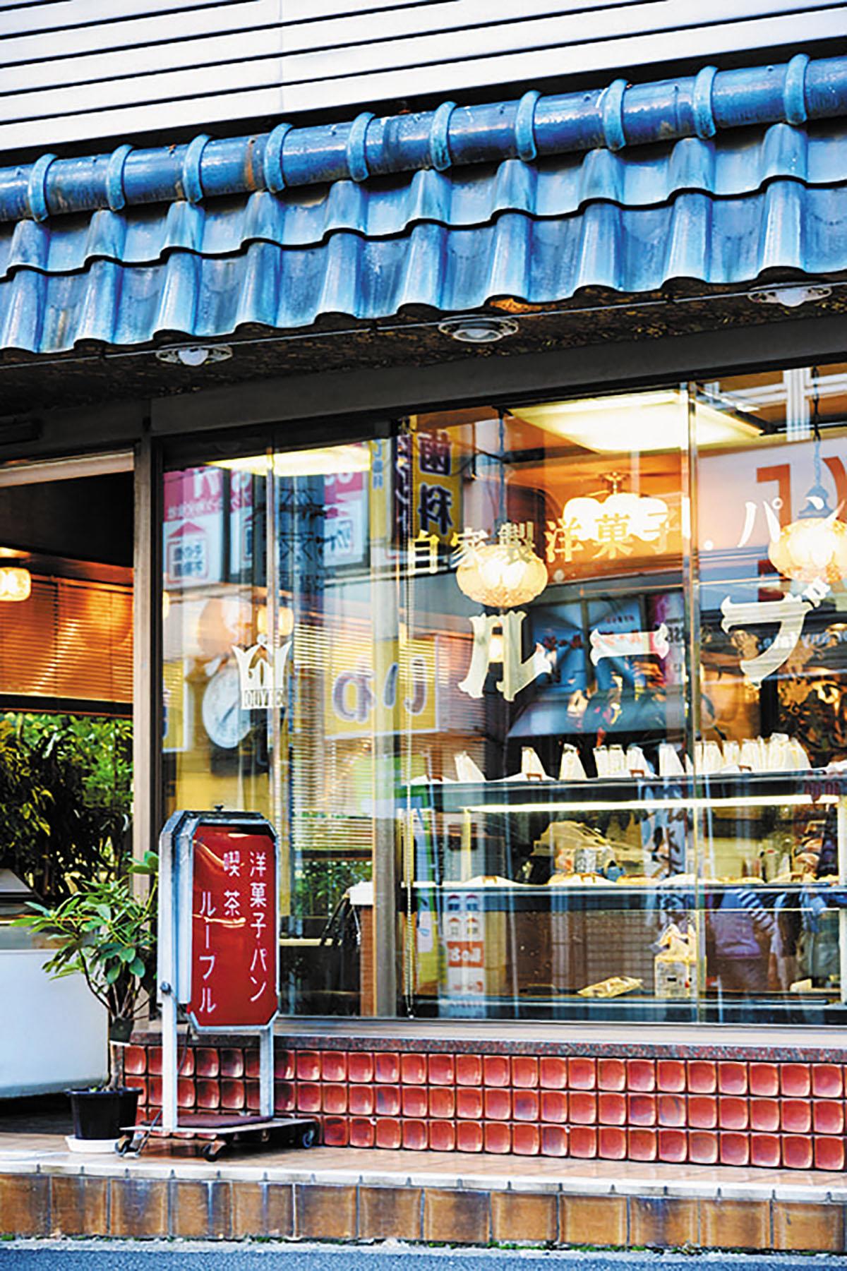 洋菓子・パン・喫茶 ルーブル店舗写真
