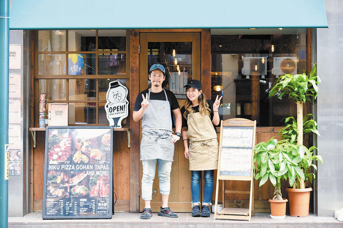 BARU 東中野GRILL店舗写真